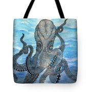 The Octopus 3 Tote Bag