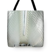 The Oculus Interior Platform Tote Bag