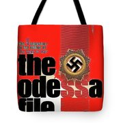 The Odessa File Frederick Forsyth Book Cover 1972 Color Added 2016 Tote Bag