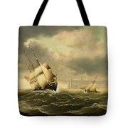 The Olbers At Sea Tote Bag
