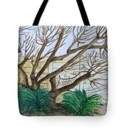 The Old Apricot Tree Tote Bag
