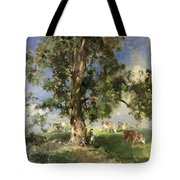 The Old Ash Tree Tote Bag by Edward Arthur Walton