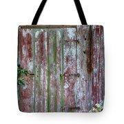 The Old Barn Door Tote Bag