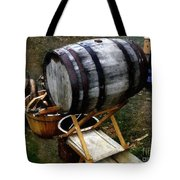 The Old Beer Barrel Tote Bag