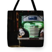 The Old Beer Truck Tote Bag