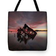 The Old Boat Skeleton Am Tote Bag