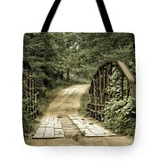 The Old Bridge Tote Bag