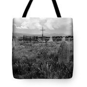 The Old Cemetery At Galisteo Tote Bag