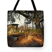 The Old Chicken Lot Tote Bag