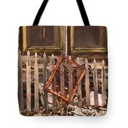 The Old Cooper House Front Grate Tote Bag