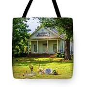 The Old Country Churchyard Tote Bag