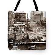 The Old Crew Of Gaspar Tote Bag by David Lee Thompson