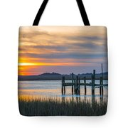 The Old Dock - Charleston Low Country Tote Bag
