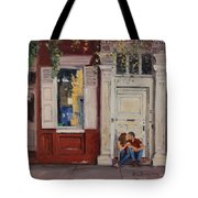 The Old Doorway Tote Bag