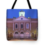 The Old Exchange And Provost Dungeon At Twilight Charleston South Carolina Tote Bag