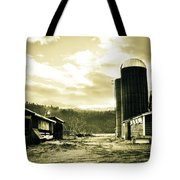 The Old Farm Tote Bag