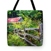 The Old Fence Tote Bag