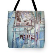 The Old Fishing Shack Tote Bag