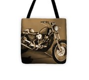 The Old Harley Tote Bag