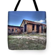 The Old Haunted Barn Tote Bag