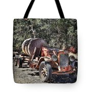 The Old Jalopy In Wine Country, California  Tote Bag