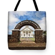 The Old Koloa Church Tote Bag