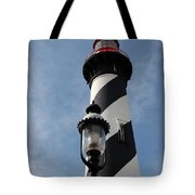 The Old Lantern And The Lighthouse Tote Bag