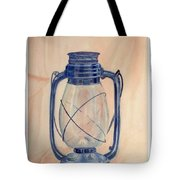 The Old Lantern Tote Bag