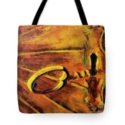 The Old Lock Tote Bag