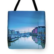 The Old Lock Gates Tote Bag