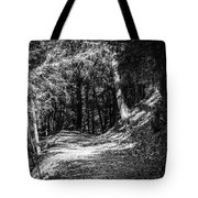 The Old Logging Road Tote Bag