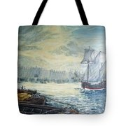 The Old London Bridge Tote Bag