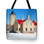 The Old Mackinac Point Lighthouse Tote Bag