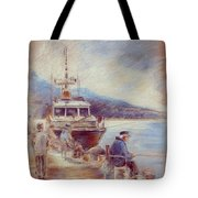 The Old Man And The Sea 01 Tote Bag