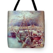 The Old Man And The Sea 02 Tote Bag