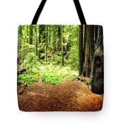 The Old Man In The Forest Tote Bag
