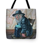 The Old Man Near The Western Wall Tote Bag