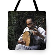 The Old Man Plays Zither Tote Bag