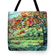 The Old Maple Tree Tote Bag