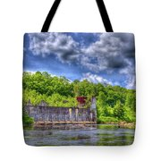 The Old Mckeever Pulp Mill Tote Bag
