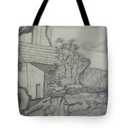The Old Mill Tote Bag