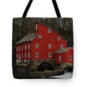 The Old Mill In Clinton Nj Tote Bag