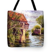 The Old Mill Of Vernon Tote Bag