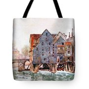 The Old Mills At Meaux Tote Bag