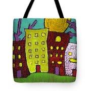 The Old Neighborhood Tote Bag by Wayne Potrafka