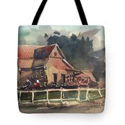 The Old Old House Tote Bag