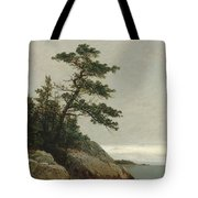 The Old Pine, Darien, Connecticut, 1872  Tote Bag