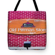 The Old Pittman Store Sign Tote Bag