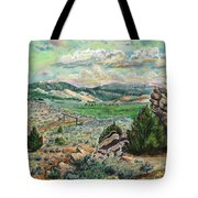 The Old Ranch Gate Tote Bag