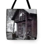 The Old Red House 11x14 Tote Bag